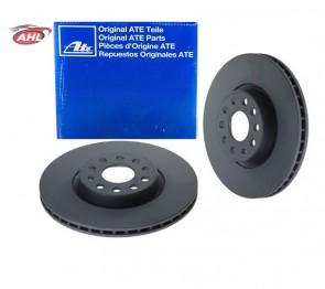 X 2 ATE  24.0125-0158.1 Disque de frein pour FIAT SEAT SKODA VAG VW
