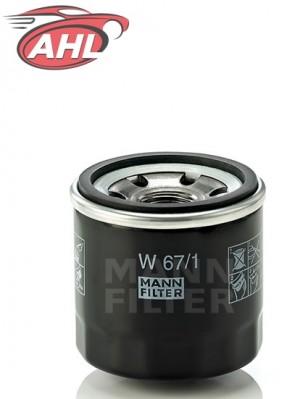 MANN W 67/1 Filtre à huile pour CITROËN RENAULT DACIA