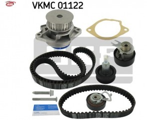 SKF VKMC 01122 Pompe à eau + kit de courroie de distribution pour AUDI SEAT SKODA VW