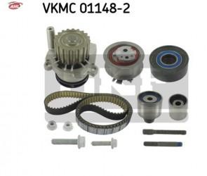 SKF VKMC 01148-2 Pompe à eau + kit de courroie de distribution pour Audi Seat VW FORD