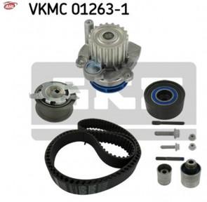 SKF VKMC 01263-1 Pompe à eau + kit de distribution pour AUDI FORD JEEP SEAT SKODA VW