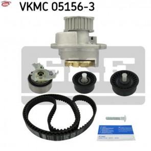 SKF VKMC 05156-3 Pompe à eau + kit de courroie de distribution Opel SAAB
