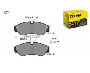 TEXTAR 2179901 Kit de plaquettes de frein pour CITROËN FIAT PEUGEOT