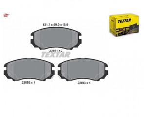 TEXTAR 2389101 Kit de plaquettes de frein HYUNDAI KIA