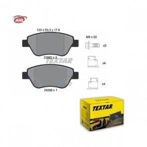 TEXTAR 2398202 Kit de plaquettes de frein OPEL