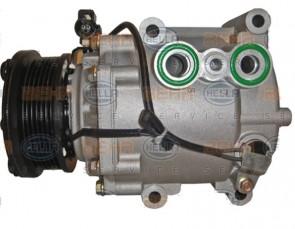 HELLA 8FK 351 113-901 Compresseur de climatisation pour FORD