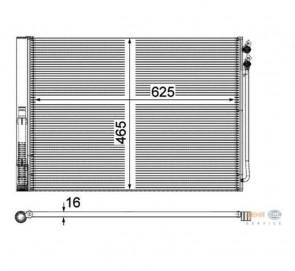 HELLA 8FC 351 309-141 Compresseur de climatisation BMW