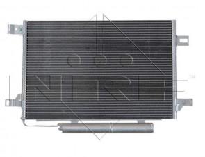 NRF 35758 Condenseur de climatisation MERCEDES