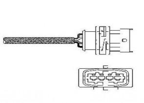 DELPHI ES10789-12B1 Sonde lambda pour OPEL VAUXHALL