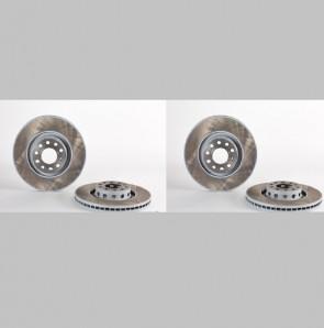 BREMBO 09.9911.11 Jeu de 2 disques de frein  pour AUDI VW