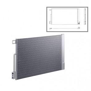 HELLA 8FC 351 301-651 Condenseur,radiateur de climatisation pour PEUGEOT CITROËN FIAT OPEL