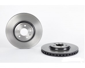 BREMBO 09.A758.11 Jeu de 2 disques de frein pour AUDI FIAT