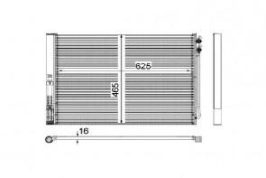 MAHLE AC 567 000P radiateur de climatisation pour BMW