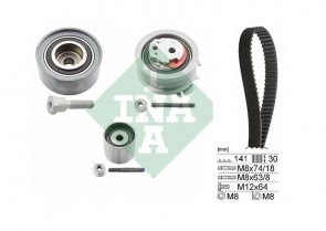 INA 530 0463 10 Kit de distribution AUDI SEAT SKODA VW