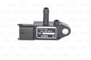 BOSCH 0 281 002 770 Capteur, pression des gaz échappement pour OPEL FIAT SAAB SUZUKI