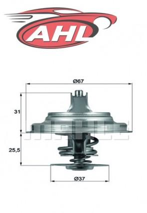 BEHR TX 25 71 D Thermostat pour AUDI VOLVO VW