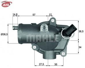 BEHR TI 28 92 Thermostat 92°C pour Mercedes-Benz S-Klasse E-Klasse S 320 CDI