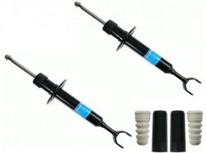 SACHS 557 837 + 900 082 Jeu de 2 amortisseurs + Kit de protection contre la poussière pour AUDI VW SKODA