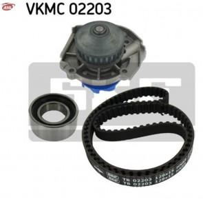 SKF VKMC 02203 Pompe à eau + kit de courroie de distribution Fiat Lancia