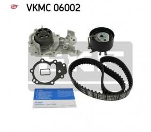 SKF VKMC 06002 Pompe à eau + kit de courroie de distribution pour Renault  Dacia Nissan