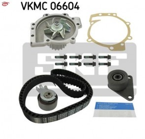 SKF VKMC 06604 Pompe à eau + kit de courroie de distribution pour FORD RENAULT VOLVO