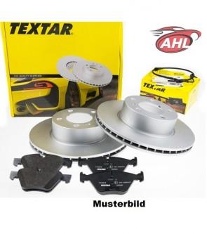 TEXTAR 92055603 + 2328702 + 98023900 disque + plaquettes + contacteur d'usure pour BMW