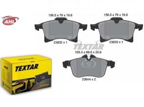 TEXTAR 2383201 Kit de plaquettes de frein
