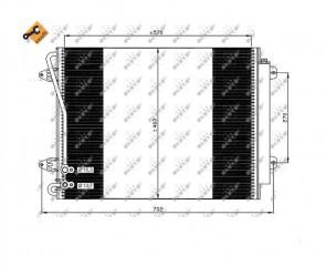 NRF 35613 Condenseur de climatisation  VOLKSWAGEN