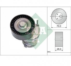 INA 534 0123 20 Galet tendeur de courroie d'accessoire pour Audi Seat VW Skoda