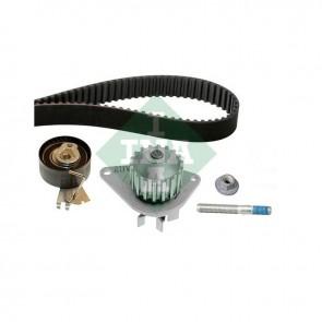 INA 530 0334 30 Pompe à eau + kit de courroie de distribution pour PEUGEOT CITROËN